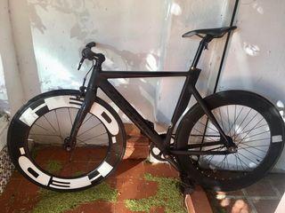 Bicicleta fixie fixed piñón fijo Derail