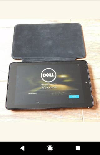 brand new dell tablet
