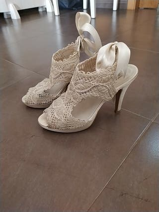 sandalia para novia made in Spain