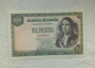 Facsimil/Billete Mil pesetas (1949)