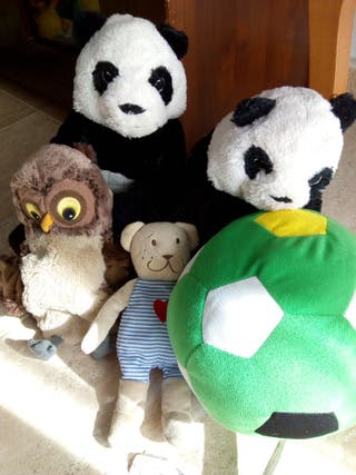 lote peluches Ikea