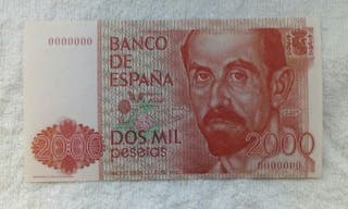 Facsimil/Billete de Dos mil pesetas (1980)