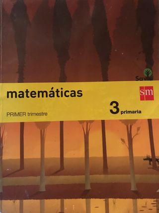 Libro de texto Matemáticas