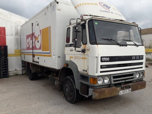 DAF 1700 TURBO..