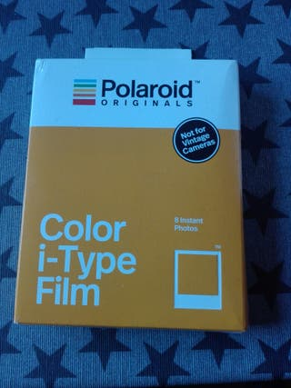 Cámara Fotos Polaroid One Step y Color i-type film