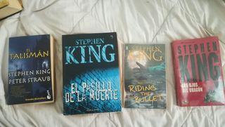 Colección novelas Stephen King
