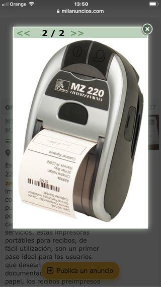 IMPRESORA ZEBRA MZ220