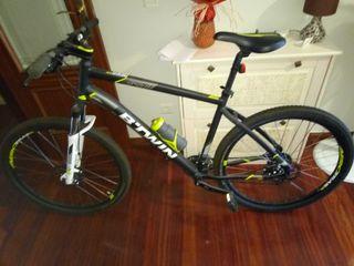 bicicleta de montaña btwin rockrider 520 talla xl