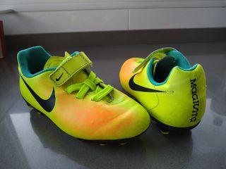 botas futbol niño nike magista