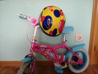 bicicleta Disney y casco