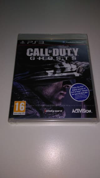 CALL OF DUTY GHOSTS PS3 NUEVO CASTELLANO