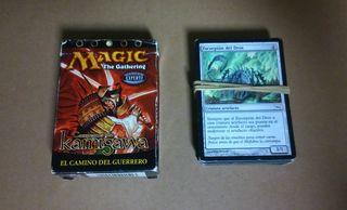 Mazo cartas magic the gathering + 70 cartas