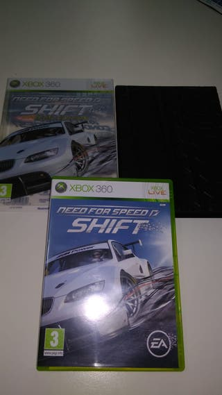 NEED FOR SPEED SHIFT ED. ESPECIAL XBOX 360 CASTELL