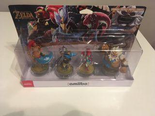 Pack 4 amiibos Zelda