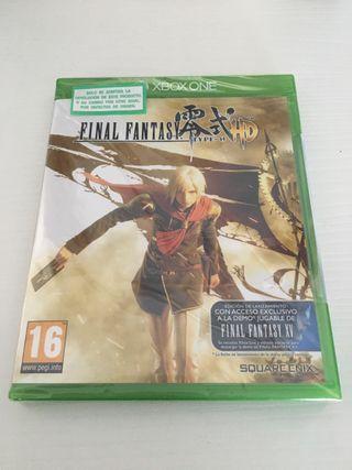 Final fantasy Type 0 HD - (Precintado)