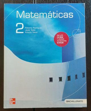 Libro Matemáticas 2º Bachi