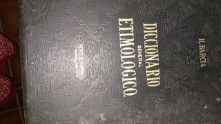 Antiguo diccionario etimológico