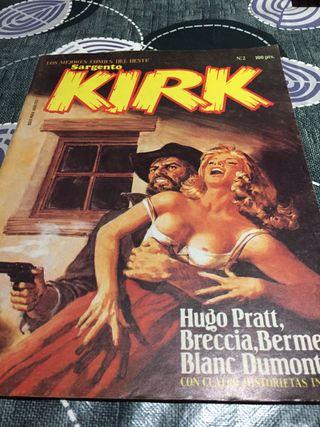 Cómic del oeste Sargento Kirk n 2 revista