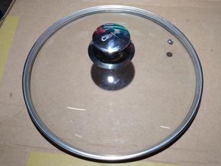 tapa de cristal castey 28cm
