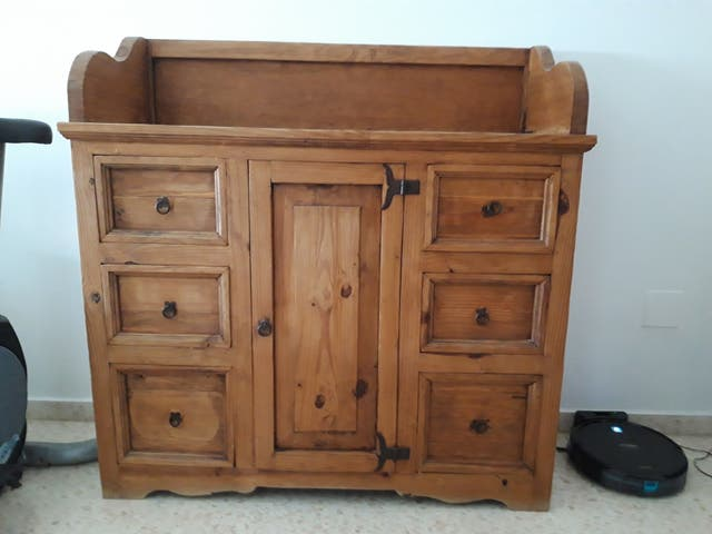 Mueble mexicano madera