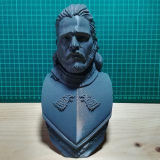 Busto Jhon Nieve
