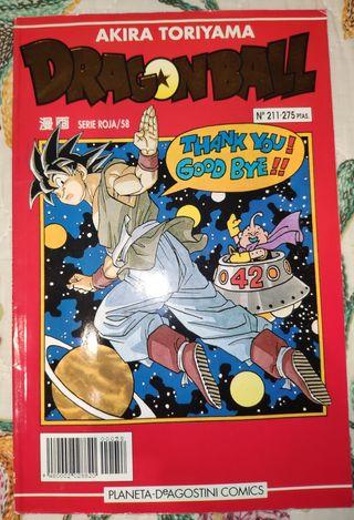 Colección Dragon Ball Serie Roja