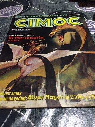 Cimoc cómic revista número 6