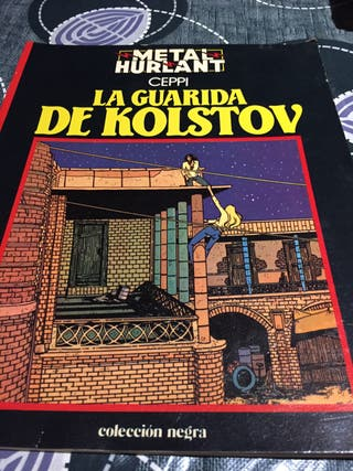 Metal hurlant ceppi la guarida de kolstov comic