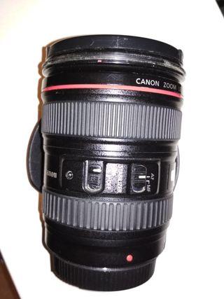 Canon 24-105 L en perfecto estado.
