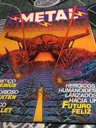 Metal hurlant cómic revista