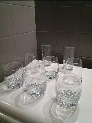 vasos de cristal whisky