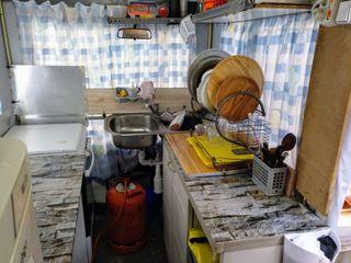 Tienda de cocina de camping + Carpa de camping