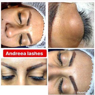 Eyelashes extensions !!!