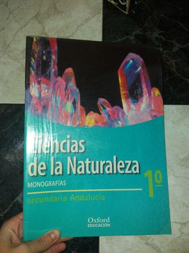 libro Ciencias de la naturaleza 1