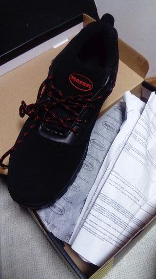 Zapatos de seguridad de hombre marca Paredes