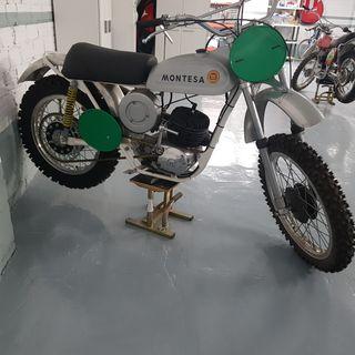 Moto Antigua Montesa