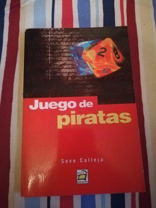 Novela juvenil Juego de Piratas