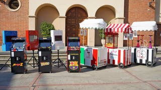 Carros comida, Fotomatones ,Arcade .