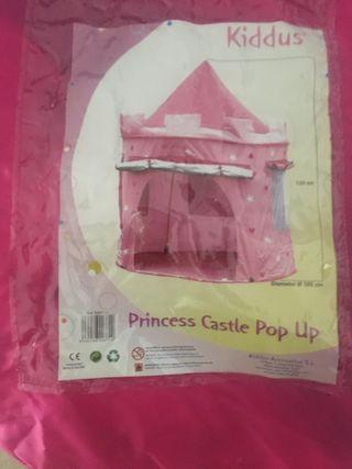 Tienda de campaña de princesa