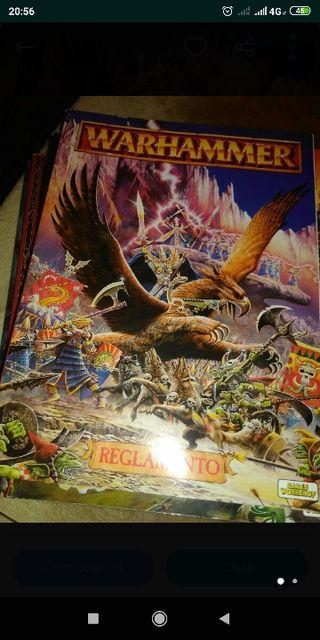 Warhammer manual descatalogado