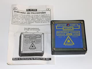 DETECTOR DE MICROONDAS KEMO
