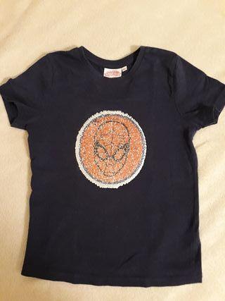 Camiseta spiderman 4-5 años