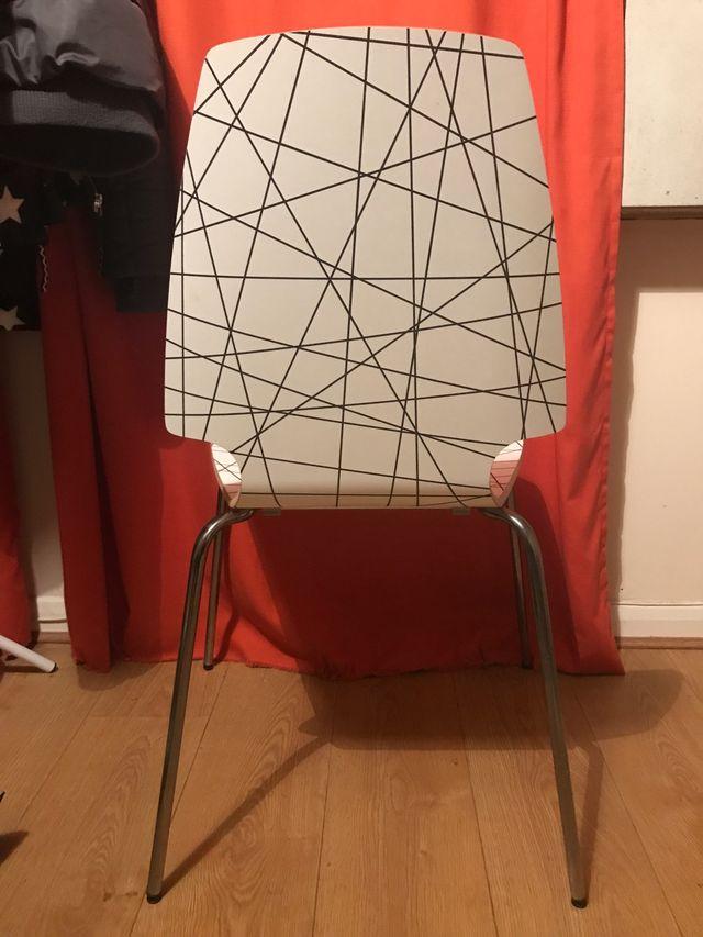 4 IKEA chairs