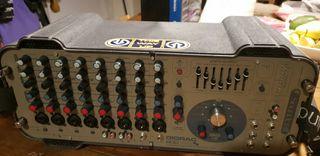 mesa autoamplificada soundcraf gigrac 600