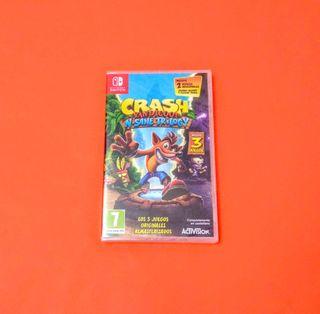 Crash Bandicoot: N' Sane Trilogy PRECINTADO
