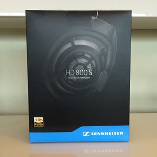 Auriculares HiFi Sennheiser HD800s como nuevos