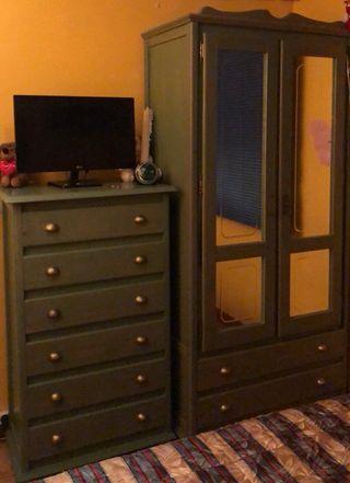Dormitorio completo Provenzal