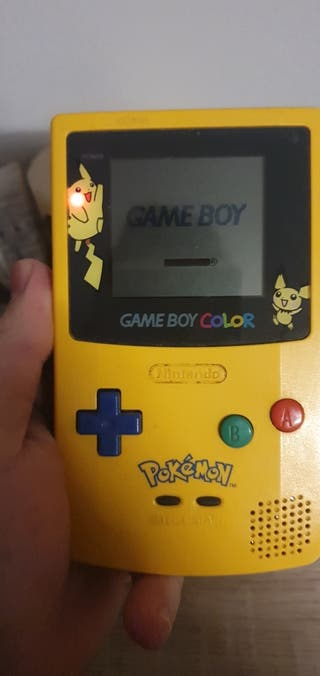 Game Boy Color Pikachu