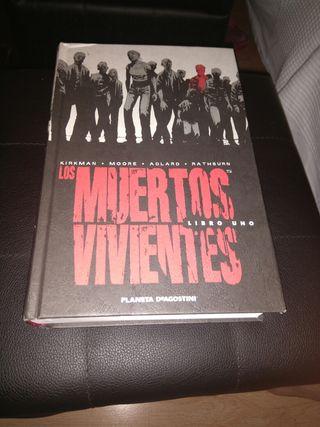 novela grafica, los muertos vivientes