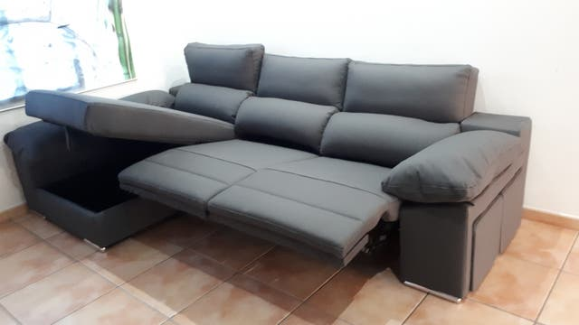 SOFA, SOFA CHAISE LONGUE , ELECTRICO , RELAX